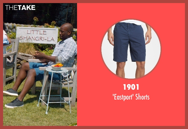 1901 blue shorts from And So It Goes seen with Maurice Jones (Ray)