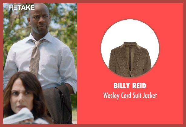 Billy Reid brown jacket from And So It Goes seen with Maurice Jones (Ray)