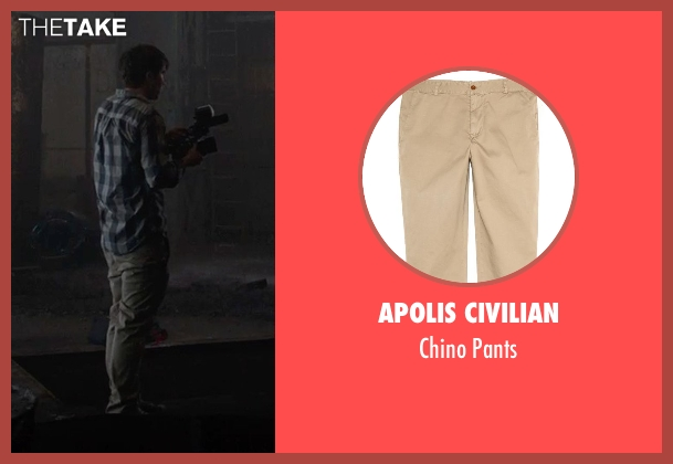 Apolis Civilian pants from Into the Storm seen with Max Deacon (Donnie)