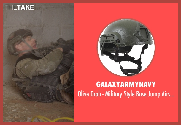 galaxyarmynavy helmet from Sabotage seen with Max Martini (Tom 'Pyro' Roberts)