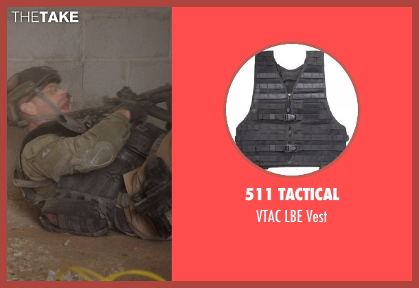 511 Tactical vest from Sabotage seen with Max Martini (Tom 'Pyro' Roberts)