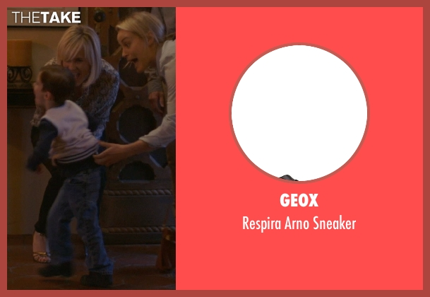 Geox black sneaker from The Overnight seen with Max Moritt (Max)