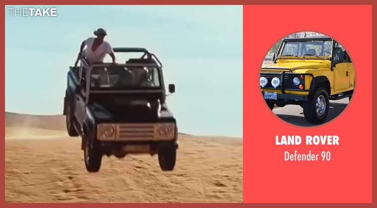 Land Rover 90 from Sex and the City 2 seen with Max Ryan (Rikard Spirt)