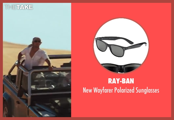 Ray-Ban black sunglasses from Sex and the City 2 seen with Max Ryan (Rikard Spirt)