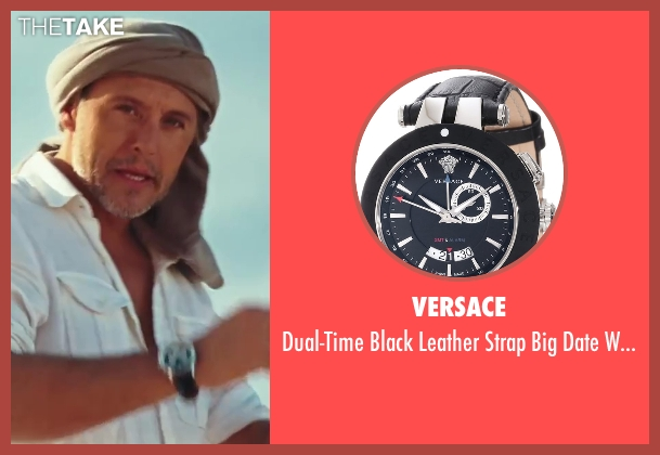 Versace black watch from Sex and the City 2 seen with Max Ryan (Rikard Spirt)