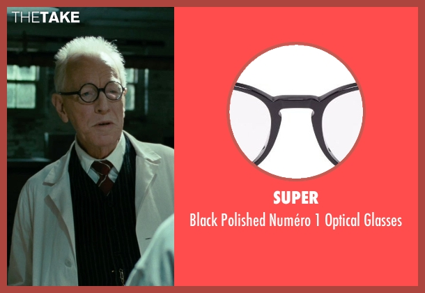 Super black glasses from Shutter Island seen with Max von Sydow (Dr. Naehring)