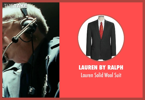 Lauren by Ralph black suit from Shutter Island seen with Max von Sydow (Dr. Naehring)