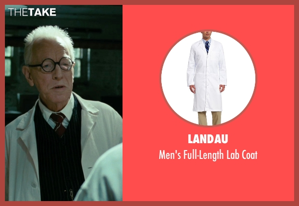 Landau coat from Shutter Island seen with Max von Sydow (Dr. Naehring)