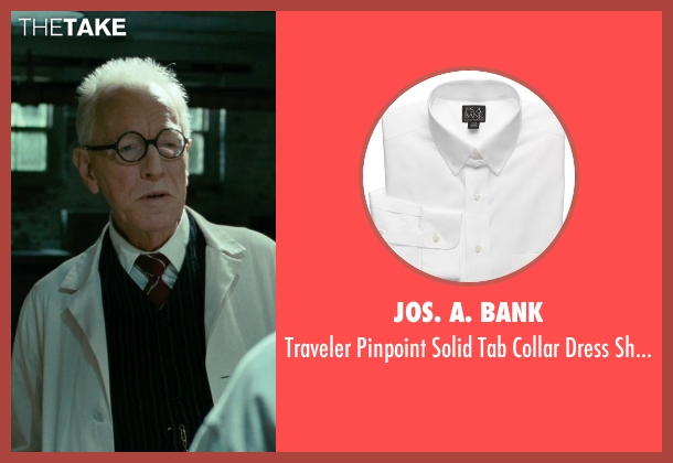 Jos. A. Bank white shirt from Shutter Island seen with Max von Sydow (Dr. Naehring)