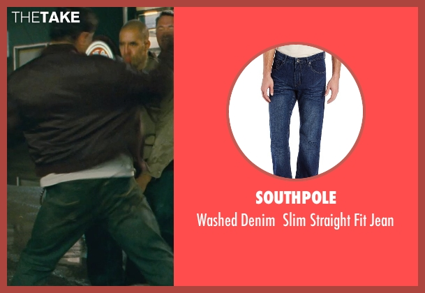 Southpole blue jean from Kick-Ass seen with Max White (Diner Fight Guy #2)