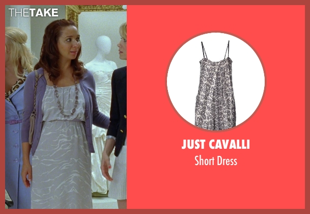 Just Cavalli gray dress from Bridesmaids seen with Maya Rudolph (Lillian Donovan)