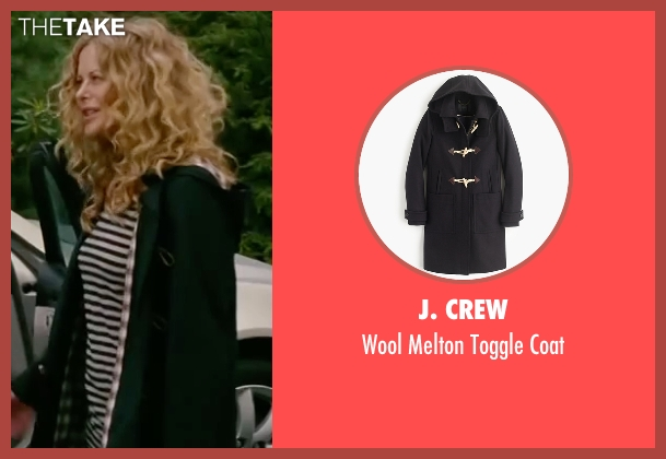 J. Crew black coat from The Women seen with Meg Ryan (Mary Haines)