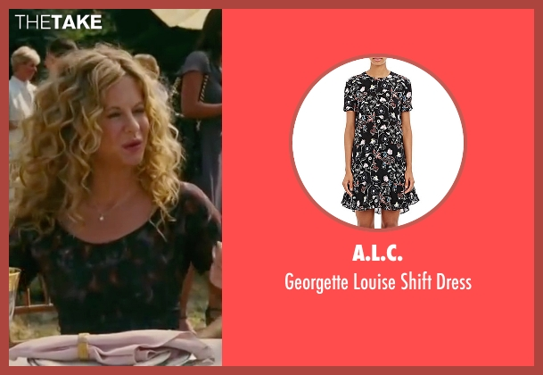 A.L.C. black dress from The Women seen with Meg Ryan (Mary Haines)