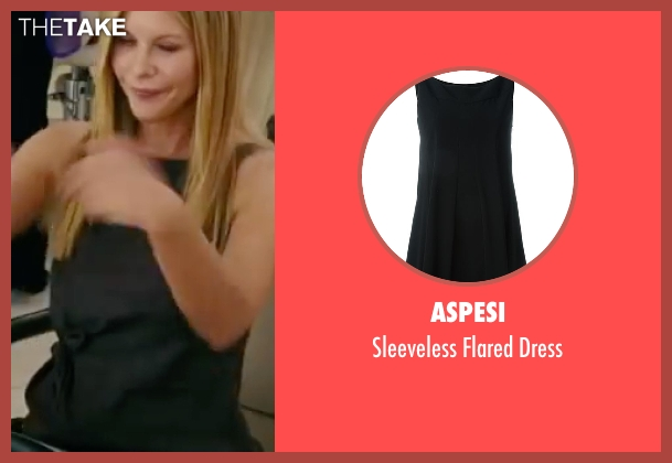 Aspesi black dress from The Women seen with Meg Ryan (Mary Haines)