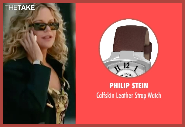 Philip Stein brown watch from The Women seen with Meg Ryan (Mary Haines)