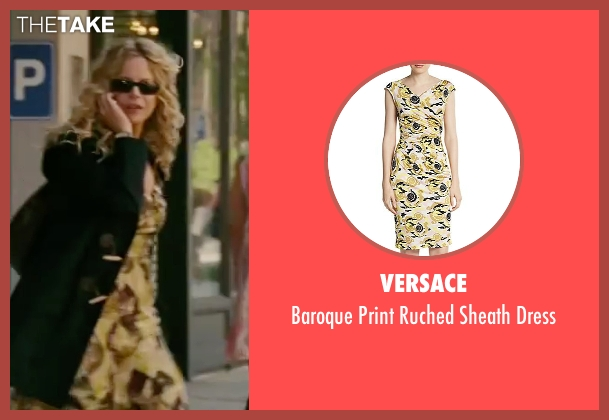 Versace yellow dress from The Women seen with Meg Ryan (Mary Haines)