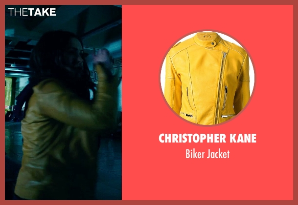 Christopher Kane yellow jacket from Teenage Mutant Ninja Turtles (2014) seen with Megan Fox (April O'Neil)