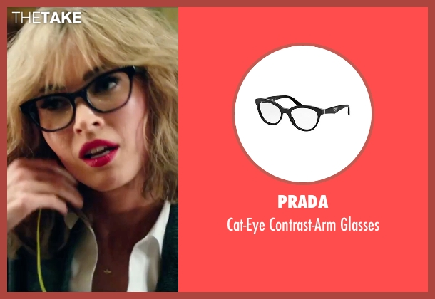 Prada black glasses from Teenage Mutant Ninja Turtles: Out of the Shadows seen with Megan Fox (April O'Neil)
