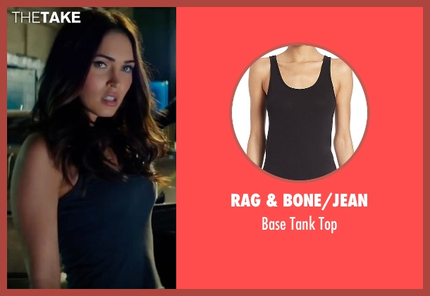 Rag & Bone/Jean black top from Teenage Mutant Ninja Turtles: Out of the Shadows seen with Megan Fox (April O'Neil)
