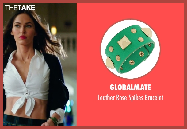 Globalmate green bracelet from Teenage Mutant Ninja Turtles: Out of the Shadows seen with Megan Fox (April O'Neil)