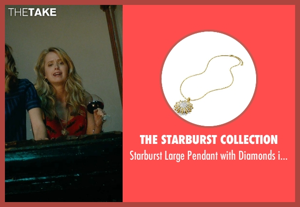 The Starburst Collection gold chain from What If seen with Megan Park (Dalia)