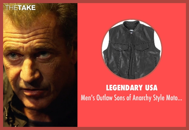Legendary USA black pockets from The Expendables 3 seen with Mel Gibson (Stonebanks)