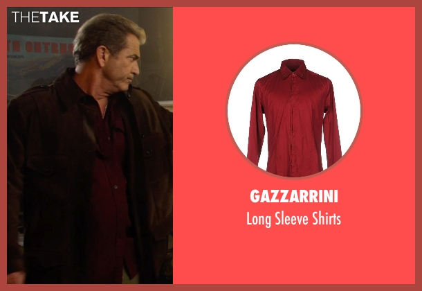 Gazzarrini red shirts from The Expendables 3 seen with Mel Gibson (Stonebanks)