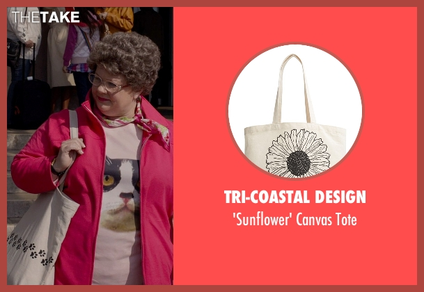 Tri-Coastal Design beige tote from Spy seen with Melissa McCarthy (Susan Cooper)