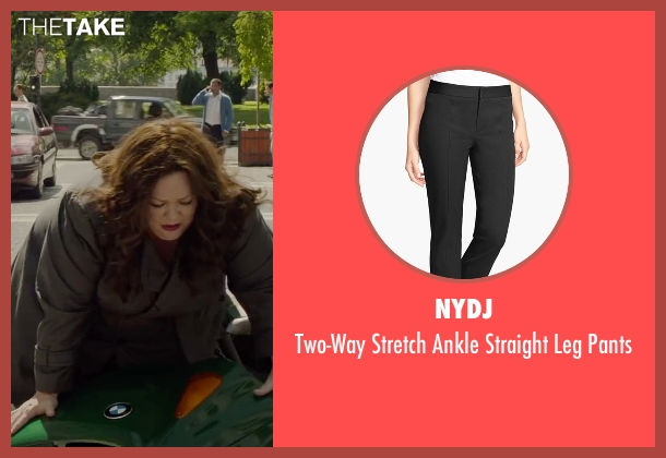 NYDJ black pants from Spy seen with Melissa McCarthy (Susan Cooper)