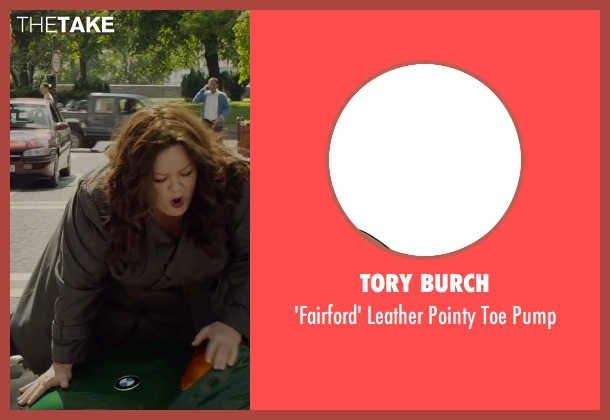 Tory Burch black pump from Spy seen with Melissa McCarthy (Susan Cooper)
