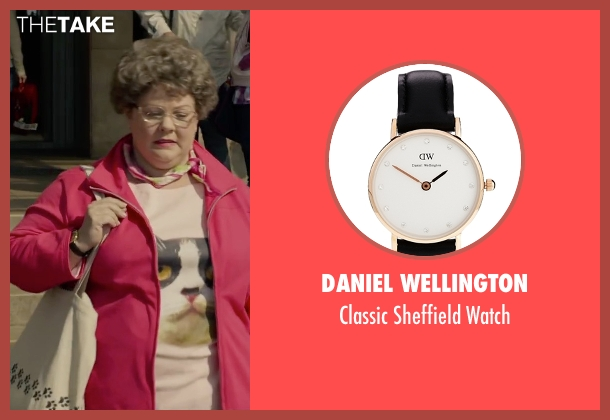 Daniel Wellington black watch from Spy seen with Melissa McCarthy (Susan Cooper)