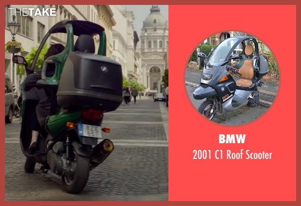 BMW scooter from Spy seen with Melissa McCarthy (Susan Cooper)