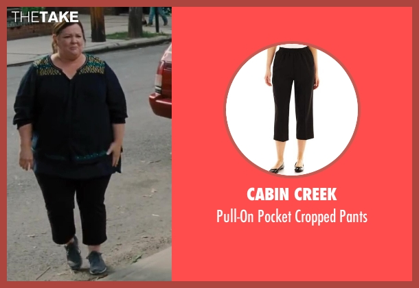 Cabin Creek black pants from St. Vincent seen with Melissa McCarthy (Maggie)