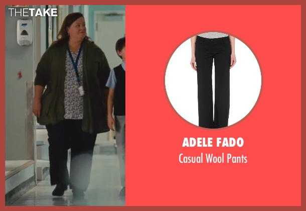 Adele Fado black pants from St. Vincent seen with Melissa McCarthy (Maggie)