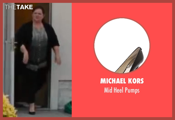 Michael Kors black pumps from St. Vincent seen with Melissa McCarthy (Maggie)