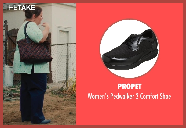 Propet black shoe from St. Vincent seen with Melissa McCarthy (Maggie)