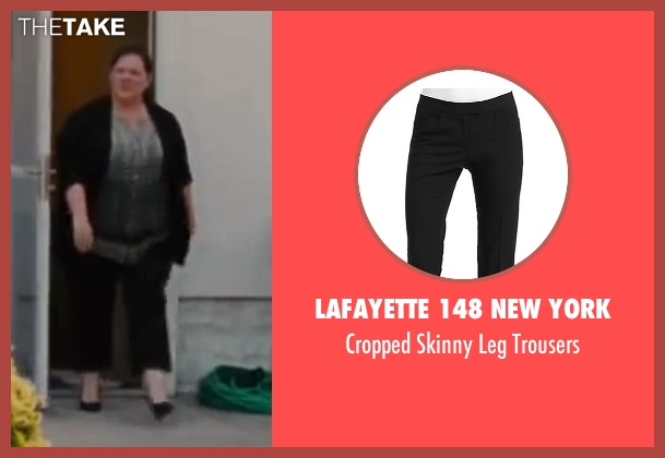 Lafayette 148 New York black trousers from St. Vincent seen with Melissa McCarthy (Maggie)