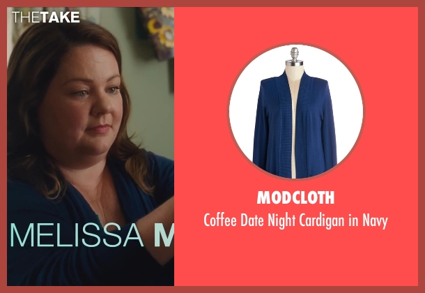 ModCloth blue navy from St. Vincent seen with Melissa McCarthy (Maggie)