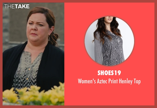 Shoes19 top from St. Vincent seen with Melissa McCarthy (Maggie)