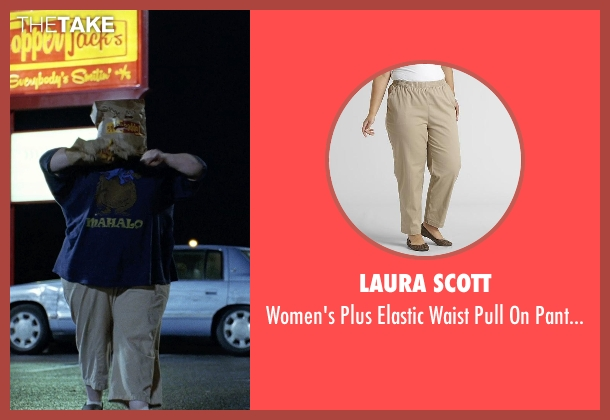 Laura Scott beige length from Tammy seen with Melissa McCarthy (Tammy)
