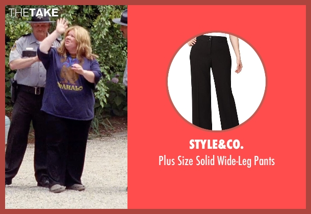 Style&co. black pants from Tammy seen with Melissa McCarthy (Tammy)