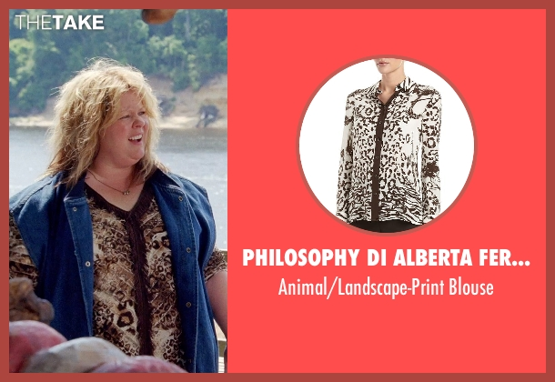 Philosophy di Alberta Ferretti blouse from Tammy seen with Melissa McCarthy (Tammy)