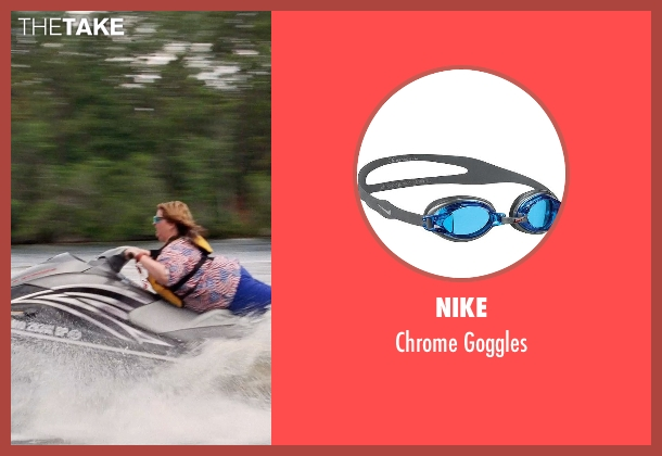 Nike blue goggles from Tammy seen with Melissa McCarthy (Tammy)