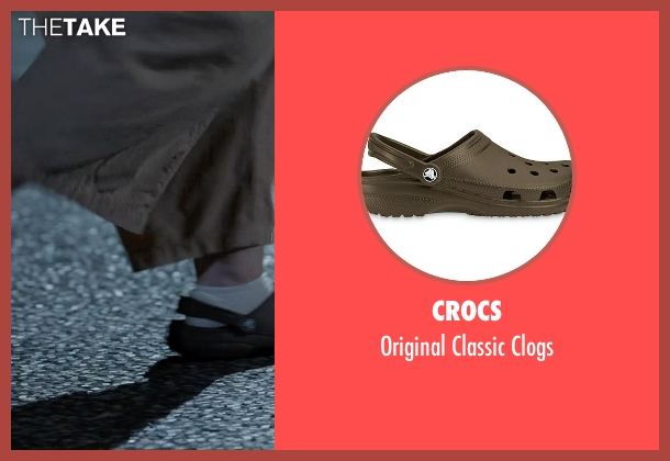 Crocs brown clogs from Tammy seen with Melissa McCarthy (Tammy)