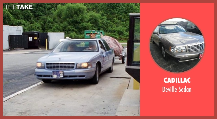Cadillac sedan from Tammy seen with Melissa McCarthy (Tammy)