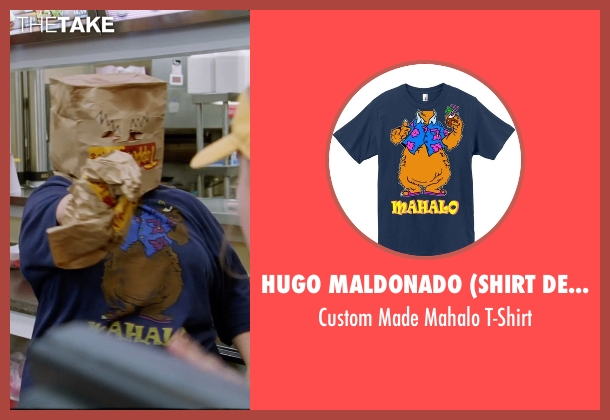 Hugo Maldonado (Shirt Designer) t-shirt from Tammy seen with Melissa McCarthy (Tammy)