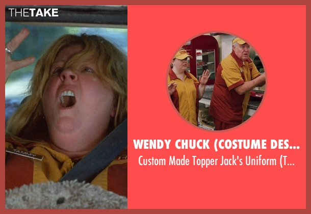 Wendy Chuck (Costume Designer) uniform from Tammy seen with Melissa McCarthy (Tammy)