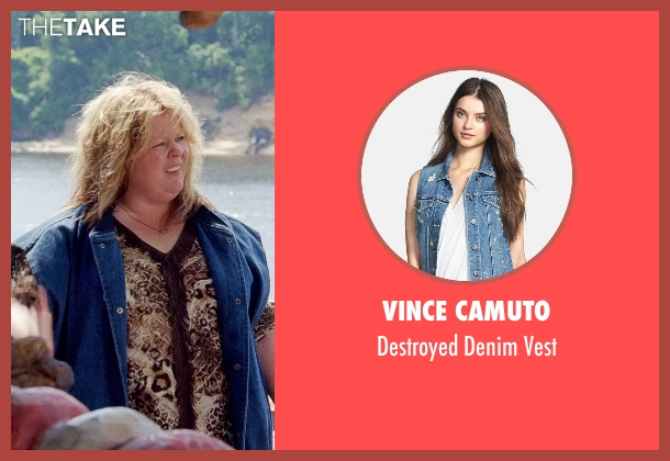 Vince Camuto vest from Tammy seen with Melissa McCarthy (Tammy)