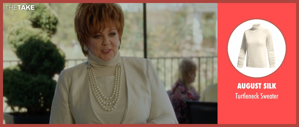 August Silk beige sweater from The Boss seen with Melissa McCarthy (Michelle Darnell)