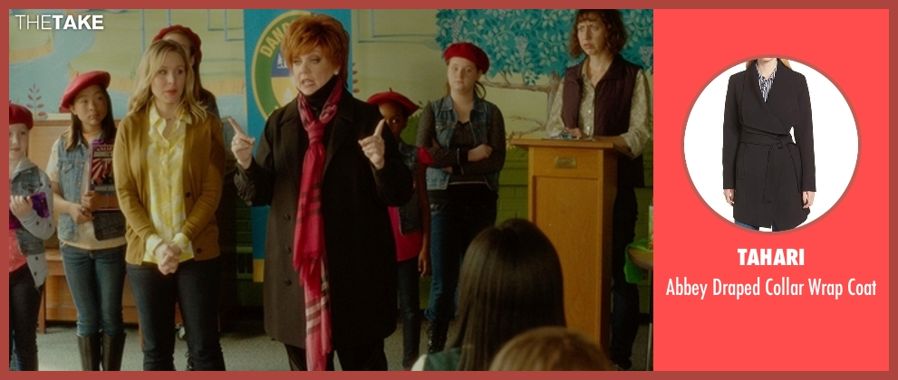 Lauren Ralph Lauren black coat from The Boss seen with Melissa McCarthy (Michelle Darnell)